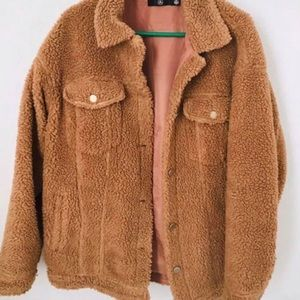 Veste « teddy bear » Missguided Small